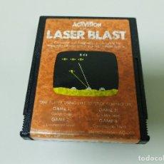 Videojuegos y Consolas: 918- LASER BLAST -ACTIVISION - GAME- FOR ATARI- REF AG008/1981. Lote 69826049