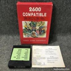 Videojuegos y Consolas: 16 GAMES IN 1 ATARI 2600. Lote 118464660