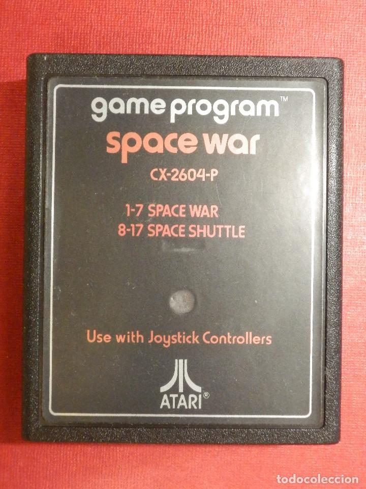 JUEGO - VIDEOJUEGO - CONSOLA ATARI - SPACE WAR - GAME PROGRAM - CX-2604-P (Juguetes - Videojuegos y Consolas - Atari)