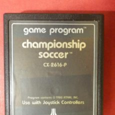 Videojuegos y Consolas: JUEGO - VIDEOJUEGO - CHAMPIONSHIP SOCCER - GAME PROGRAM - CX-2616-P - CAMPEONATO DE FUTBOL. Lote 120579803
