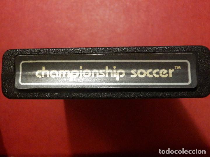 Videojuegos y Consolas: Juego - VideoJuego - Championship Soccer - Game Program - CX-2616-P - Campeonato de futbol - Foto 2 - 120579803