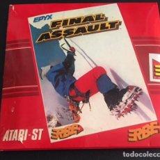 Videojuegos y Consolas: JUEGO PARA ORDENADOR ATARI ST FINAL ASSAULT - ERBE. Lote 120635439