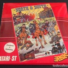 Videojuegos y Consolas: JUEGO PARA ORDENADOR ATARI ST NORTH & SOUTH - ERBE. Lote 120636175