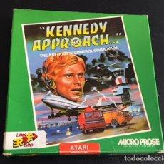 Videojuegos y Consolas: JUEGO PARA ORDENADOR ATARI ST KENNEDY APPROACH - MICRO PROSE - ERBE. Lote 120653203