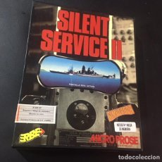 Videojuegos y Consolas: JUEGO DE ORDENADOR ATARI ST SILENT SERVICE II ERBE. Lote 120840815