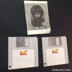 Videojuegos y Consolas: JUEGO DE ORDENADOR ATARI ST DISQUETE KHALAAN E INSTRUCCIONES - ERBE. Lote 121001291
