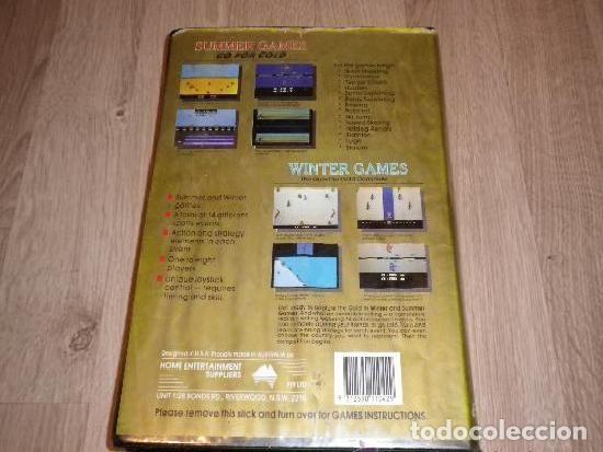 Videojuegos y Consolas: ATARI 2600 JUEGO GO FOR GOLD PAK 14 GAMES EVENTS - Foto 2 - 121051059