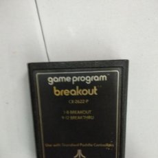 Videogiochi e Consoli: BREAKOUT - ATARI 2600. Lote 121590343