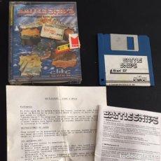 Videojuegos y Consolas: JUEGO PARA ORDENADOR ATARI ST BATTLE SHIPS MCM ELITE. Lote 121613123