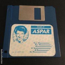 Videojuegos y Consolas: JUEGO DE ORDENADOR ATARI ST DISQUETE DISCO 3.5 ASPAR. Lote 121738931