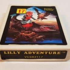 Videojuegos y Consolas: LILLY ADVENTURE VCS 83117 HOME VISION PARA ATARI. Lote 121884251