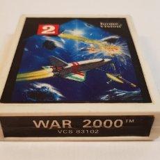 Videojuegos y Consolas: WAR 2000 VCS 83102 HOME VISION PARA ATARI. Lote 121884403