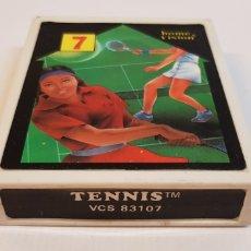 Videojuegos y Consolas: TENNIS VCS 83107 HOME VISION PARA ATARI. Lote 121884515