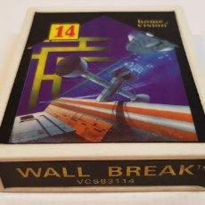 Videojuegos y Consolas: WALL BREAK VCS 83114 HOME VISION PARA ATARI. Lote 121884996
