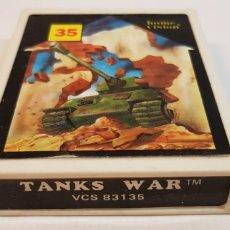 Videojuegos y Consolas: TANKS WAR VCS 83135 HOME VISION PARA ATARI. Lote 121885091