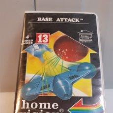Videojuegos y Consolas: BASE ATTACK VCS 83113 CON FUNDA HOME VISION PARA ATARI. Lote 121885272