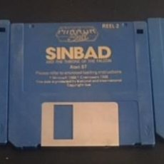 Videojuegos y Consolas: JUEGO DE ORDENADOR ATARI ST DISQUETE DISCO 3.5 SINBAD AN THE THRONE OF THE FALCON. Lote 121989587