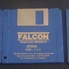 Videojuegos y Consolas: JUEGO DE ORDENADOR ATARI ST DISQUETE DISCO 3.5 FALCON. Lote 121991219