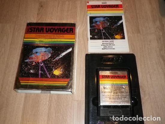 ATARI 2600 JUEGO STAR VOYAGER COMPLETO (Juguetes - Videojuegos y Consolas - Atari)