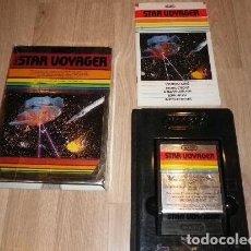Videojuegos y Consolas: ATARI 2600 JUEGO STAR VOYAGER COMPLETO. Lote 121995099