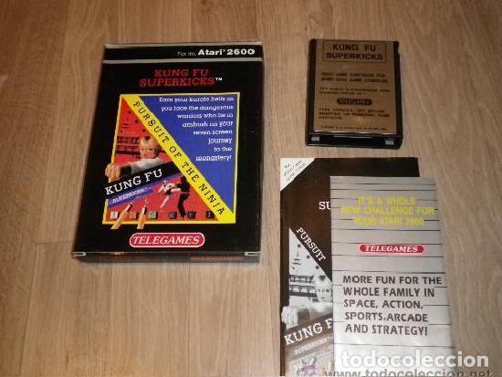ATARI 2600 JUEGO KUNG FU SUPERKICKS COMPLETO (Juguetes - Videojuegos y Consolas - Atari)
