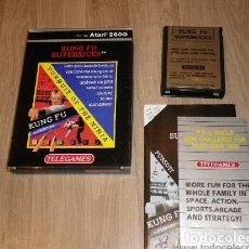 Videojuegos y Consolas: ATARI 2600 JUEGO KUNG FU SUPERKICKS COMPLETO. Lote 121995235