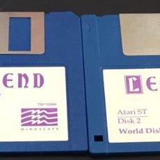 Videojuegos y Consolas: JUEGO DE ORDENADOR ATARI ST DISQUETE DISCO 3.5 LEGEND. Lote 122101183
