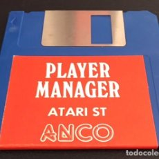 Videojuegos y Consolas: JUEGO DE ORDENADOR ATARI ST DISQUETE DISCO 3.5 PLAYER MANAGER. Lote 123328359