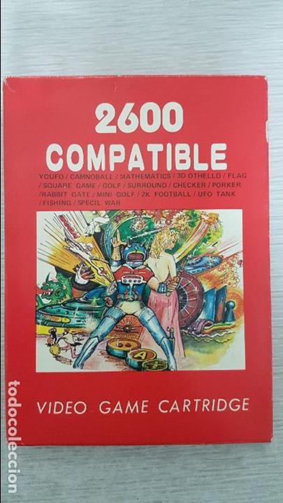 JUEGO ATARI 2600 COMPATIBLE CON 16 JUEGOS EN 1 (Juguetes - Videojuegos y Consolas - Atari)