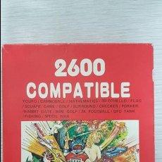 Videojuegos y Consolas: JUEGO ATARI 2600 COMPATIBLE CON 16 JUEGOS EN 1. Lote 126566775