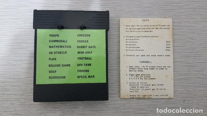 Videojuegos y Consolas: JUEGO ATARI 2600 COMPATIBLE CON 16 JUEGOS EN 1 - Foto 3 - 126566775