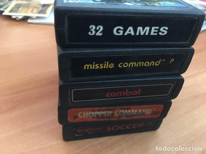 Videojuegos y Consolas: ATARI LOTE 5 VIDEOJUEGOS (CAI2) - Foto 3 - 127537071