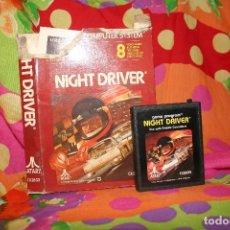 Videojuegos y Consolas: LOTE DE ANTIGUOS JUEGOS ATARI AXTERIX PELE COMBAT GORF ASTEROIDS NIGHT DRIVER. Lote 127876471