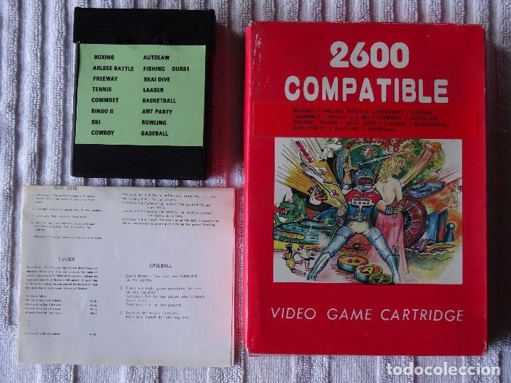 JUEGO PARA ATARI 2600 COMPATIBLE 16 GAMES (Juguetes - Videojuegos y Consolas - Atari)