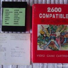 Videojuegos y Consolas: JUEGO PARA ATARI 2600 COMPATIBLE 16 GAMES. Lote 129260563