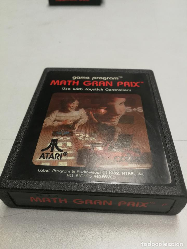 UNICO TC MATH GRAN PRIX - ATARI 2600 - PAL - JUEGO EN CARTUCHO ORIGINAL AÑO 1982 (Juguetes - Videojuegos y Consolas - Atari)