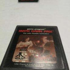 Videojuegos y Consolas: UNICO TC MATH GRAN PRIX - ATARI 2600 - PAL - JUEGO EN CARTUCHO ORIGINAL AÑO 1982. Lote 130107395