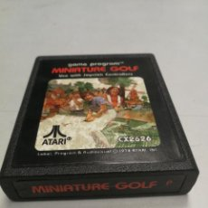 Videojuegos y Consolas: UNICO TC MINIATURE GOLF - ATARI 2600 - PAL - JUEGO EN CARTUCHO ORIGINAL AÑO 1978. Lote 130107543