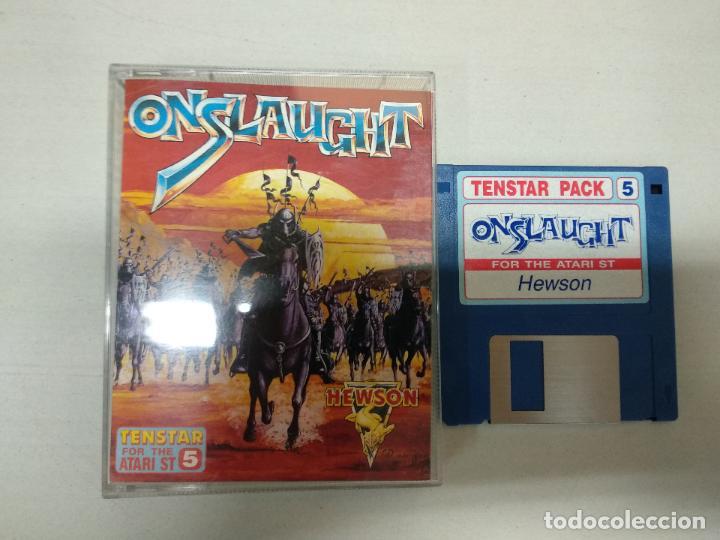 ONSLAUGHT - ATARI ST - (Juguetes - Videojuegos y Consolas - Atari)