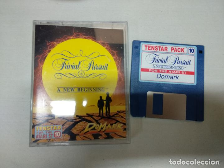 TRIVIAL PURSUIT - ATARI ST - (Juguetes - Videojuegos y Consolas - Atari)