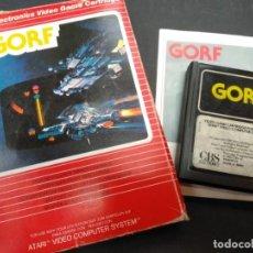 Videojuegos y Consolas: GORF JUEGO ATARI 2600. Lote 131772650