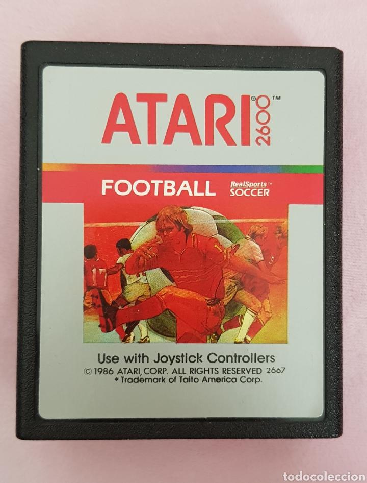 JUEGO VINTAGE ATARI FOOTBALL AÑOS 80 SOLP CARTUCHO (Juguetes - Videojuegos y Consolas - Atari)