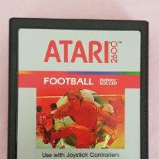 Videojuegos y Consolas: JUEGO VINTAGE ATARI FOOTBALL AÑOS 80 SOLP CARTUCHO. Lote 132227695