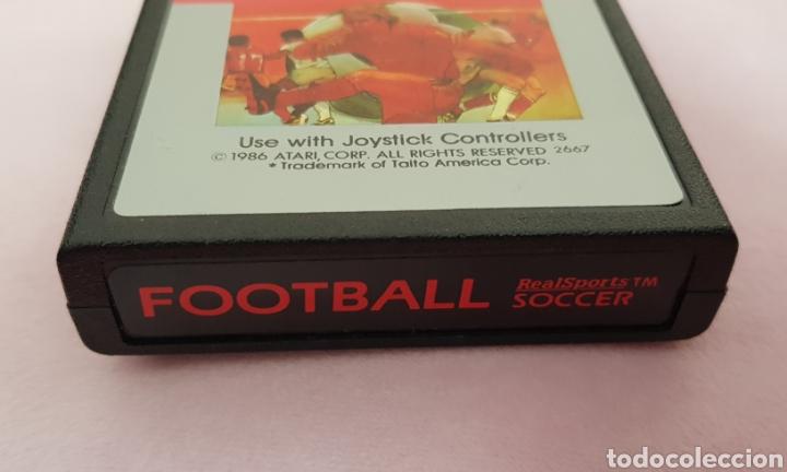 Videojuegos y Consolas: Juego vintage Atari Football años 80 solp cartucho - Foto 2 - 132227695