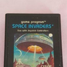 Videojuegos y Consolas: JUEGO VINTAGE ATARI SPACE INVADERS AÑOS 80 SOLP CARTUCHO. Lote 132227935