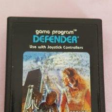 Videojuegos y Consolas: JUEGO ATARI DEFENDER0AÑOS 80 EN PERFECTO ESTADO. Lote 132228243