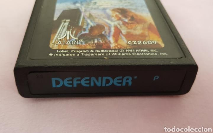 Videojuegos y Consolas: Juego Atari Defender0años 80 en perfecto estado - Foto 4 - 132228243