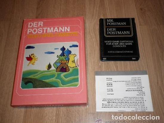 ATARI 2600 JUEGO DER POSTMANN COMPLETO (Juguetes - Videojuegos y Consolas - Atari)