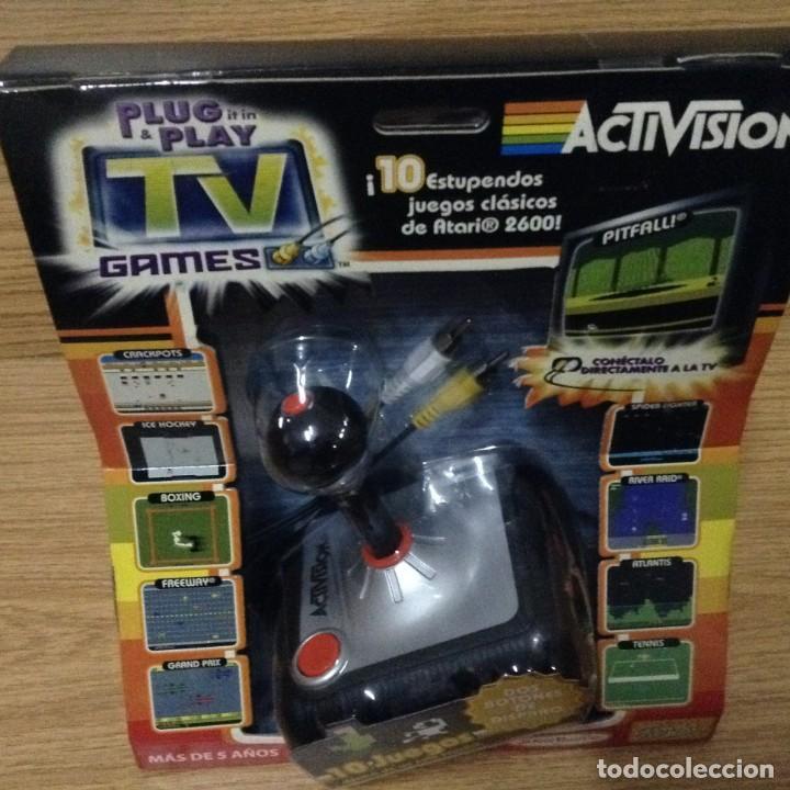 ACTIVISION TV GAMES 10 JUEGOS CLASICOS ATARI 2600 (Juguetes - Videojuegos y Consolas - Atari)