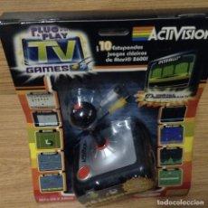 Videojuegos y Consolas: ACTIVISION TV GAMES 10 JUEGOS CLASICOS ATARI 2600. Lote 133751066